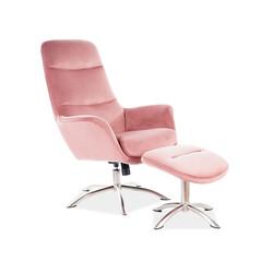 signal butor nixon velvet fotel