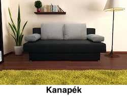 kanapék nappali bútor