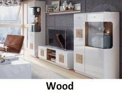 wood nappali szekreny