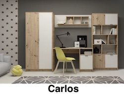 wip meble carlos ifjusagi szekrénysor